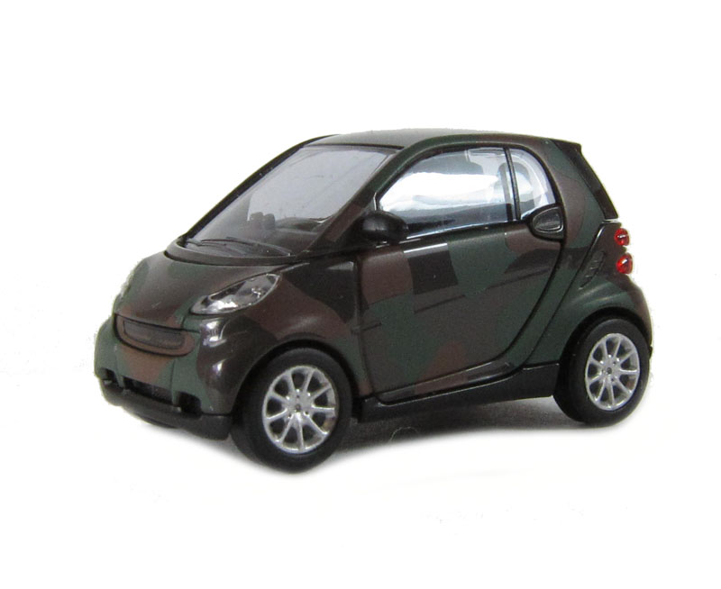 busch 46103bus smart fortwo 07 in camouflage ho scale. Black Bedroom Furniture Sets. Home Design Ideas