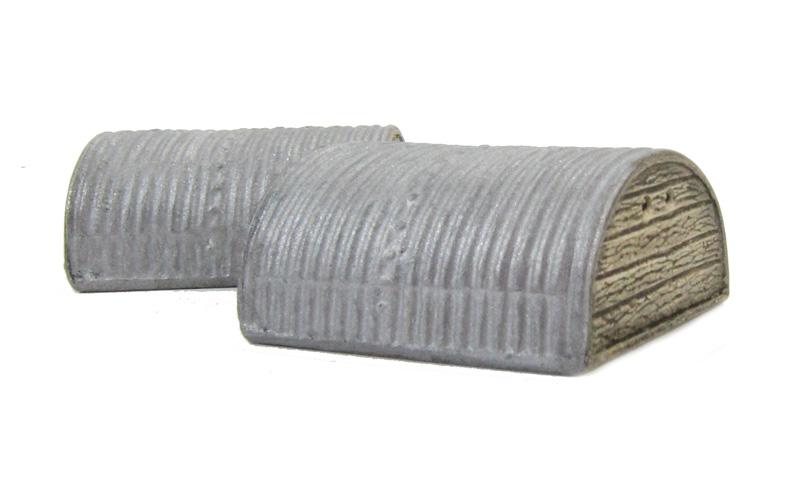Corrugated Metal Shelter : Hattons harburn hamlet cg corrugated steel