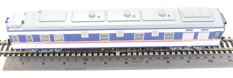 Bachmann China Cp01802 25k Air Conditioned Electric Power Supply Car 998571
