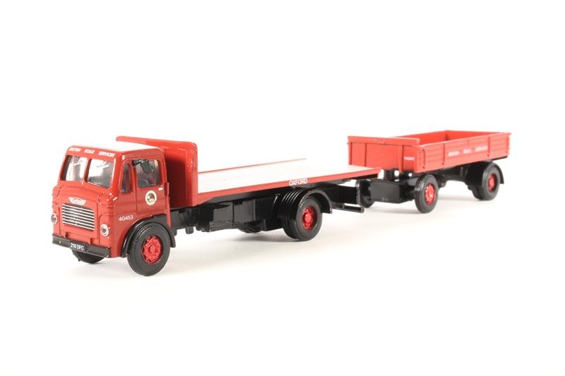 Hattons Co Uk Base Toys Da99 Leyland Beaver Flatbed