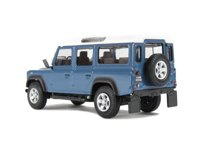 cararama defblu110 land rover defender blue 110. Black Bedroom Furniture Sets. Home Design Ideas