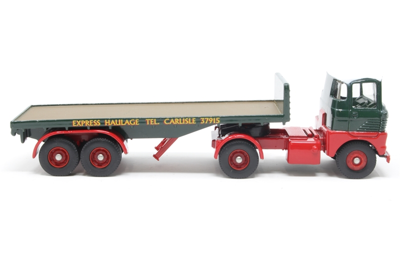 Scammell Handyman with platform trailer