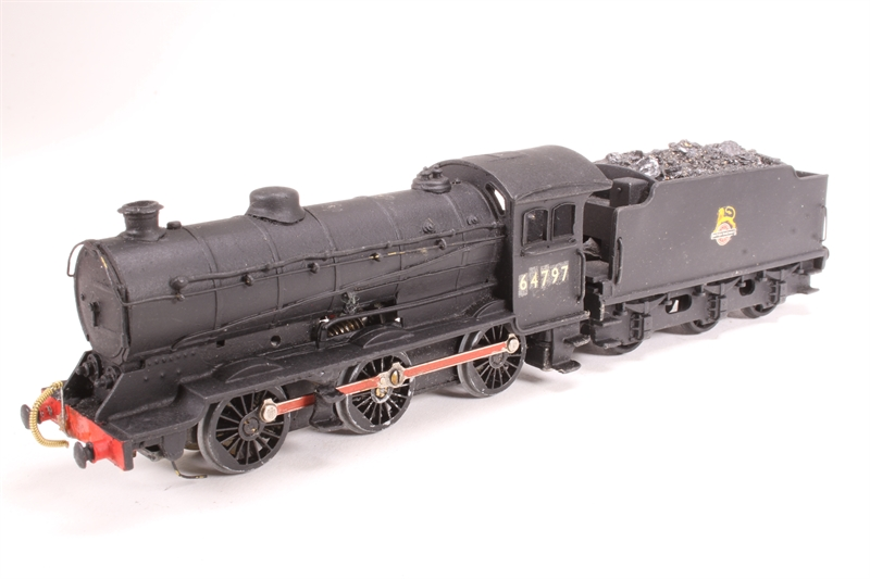 LNER Class J39 0-6-0 64797 in BR Black - Pre owned - built from Wills kit  in Triang chassis - detailed with real coal - loco stalls on curves and