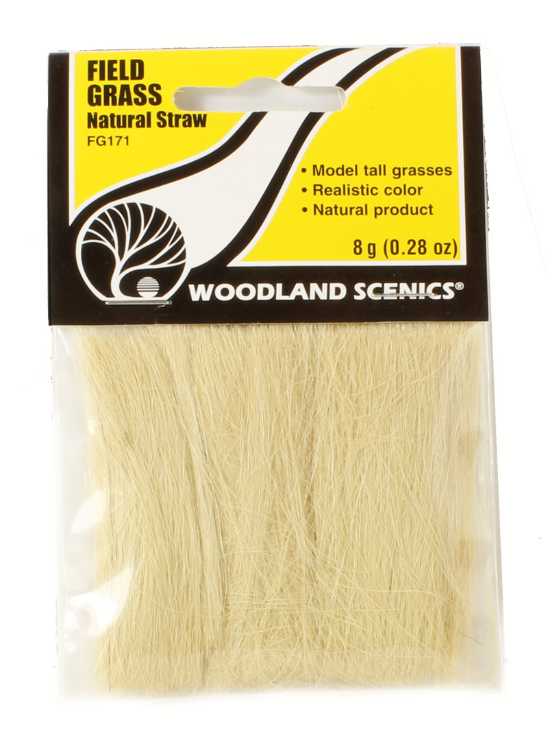 hattons co uk - Woodland Scenics FG171 Field Grass - Natural Straw