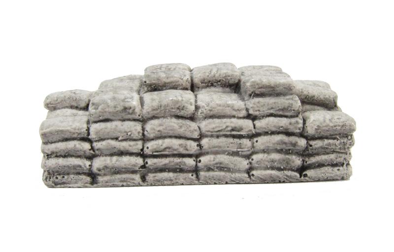 New Harburn Hamlet FL123 Layered Cement Bags OO//HO grey