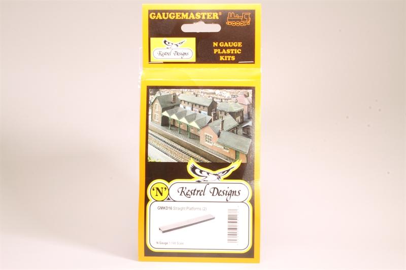 Plastic Kit 2 Gaugemaster GMKD16 N Gauge Straight Platforms