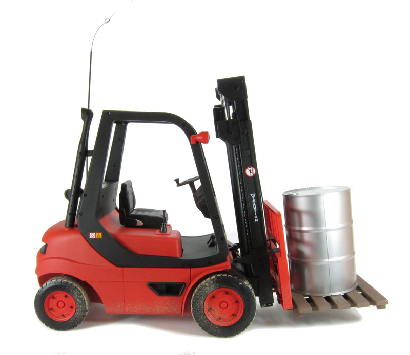 Fork Truck Controls : Hattons hobby engine he fork lift truck remote
