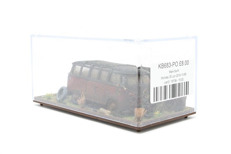9cd82972d2 KB683-PO Derelict Volkswagen Transporter Minibus scene - Pre owned - Kit  built from unknown