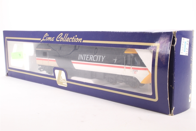 lima l204733 sd class 43 hst in intercity swallow 43129 dummy car pre owned. Black Bedroom Furniture Sets. Home Design Ideas