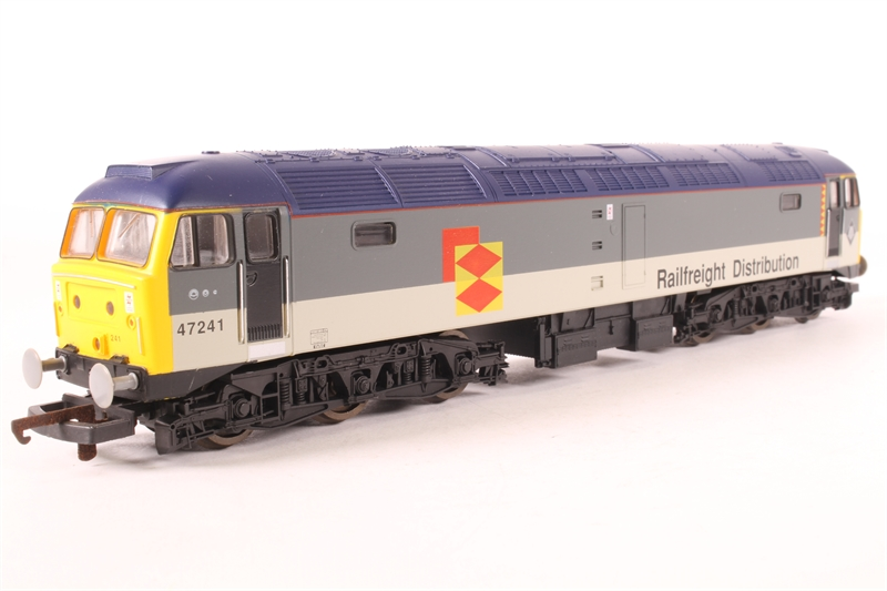 L204844-SAS01 Class 47 47241 in Railfreight Distribution grey - pre-owned -  sold