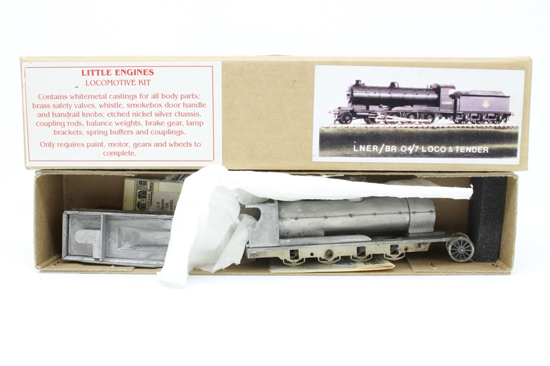 hattons co uk - Little Engines LE04-PO LNER/BRO4/7 2-8-0 Steam