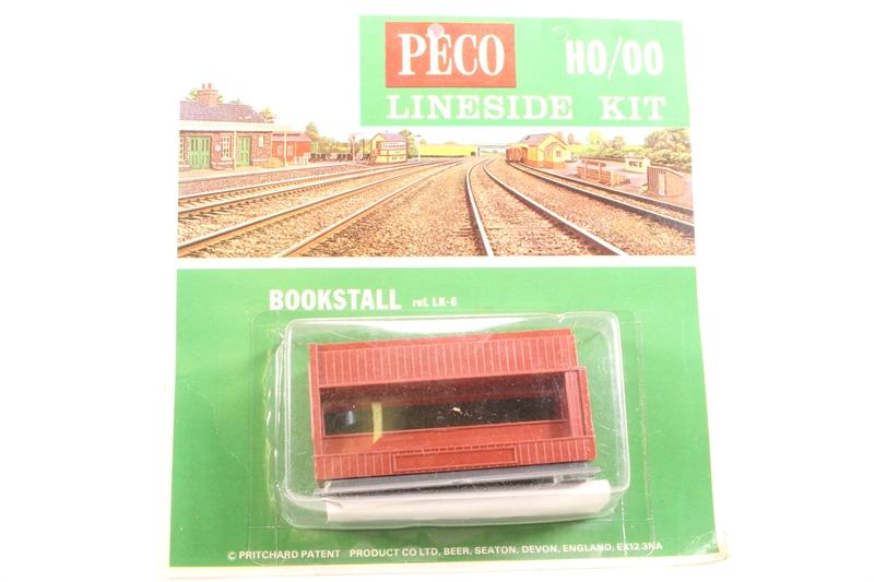OO//HO gauge Buildings Peco LK-6 Bookstall