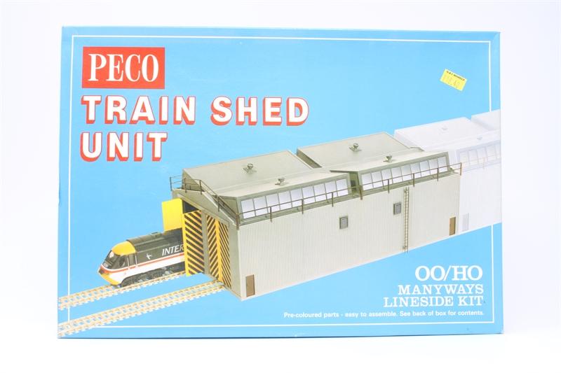 PECO LK-80 TRAIN SHED UNIT MANYWAYS KIT 00 GAUGE