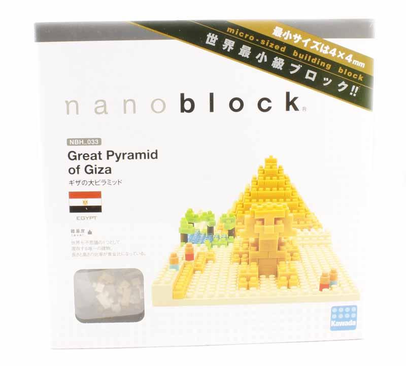 Kawada Nanoblock NBH/_033 Great Pyramid of Giza
