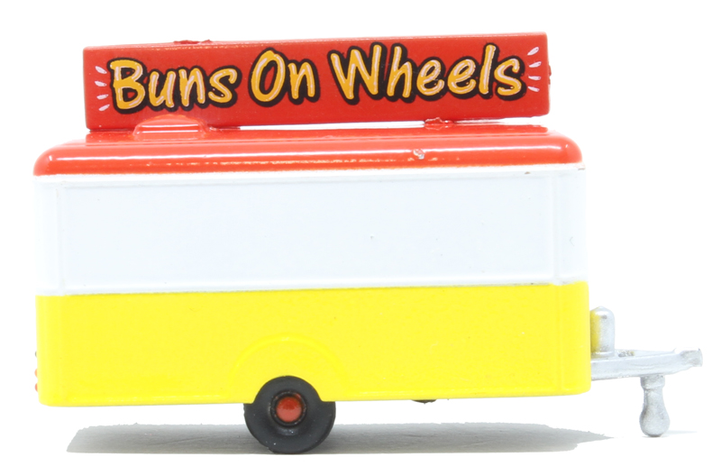 Mobile Trailer Buns On Wheels