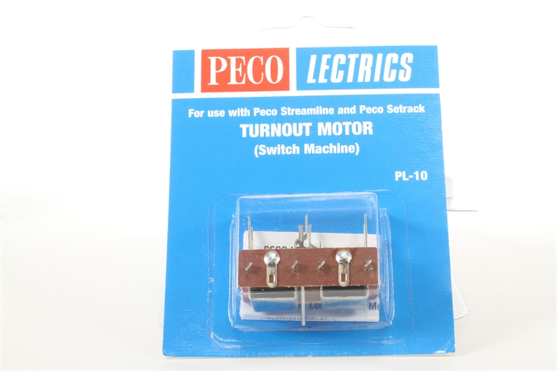 PECO PL 9 5 x MOUNTING PLATES FOR MOTOR SWITCH MACHINE PL 10 NEW IN PACKET.