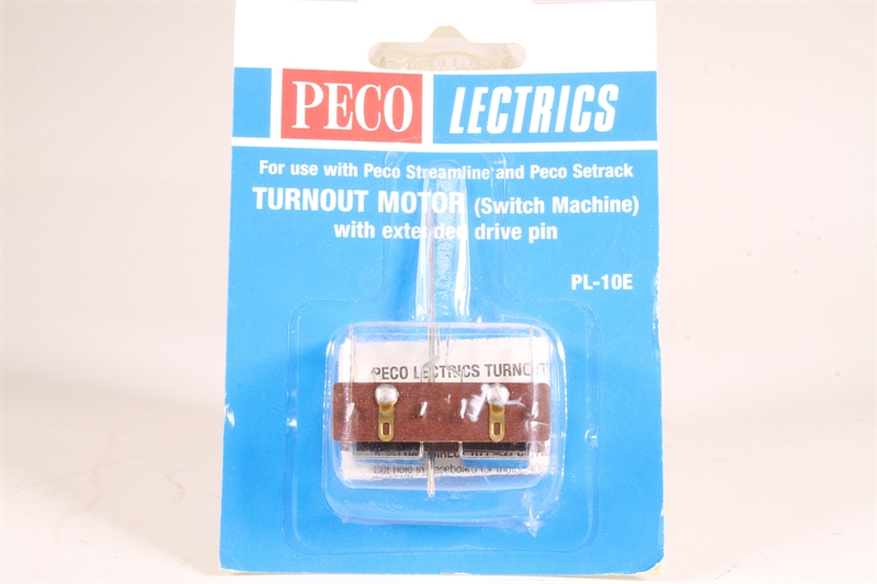 Extended Pin PL-10E Turnout Motor by remote control Peco Model Railways