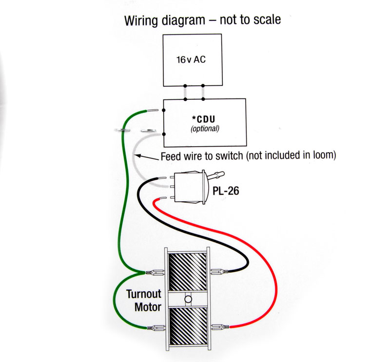 hattons co uk peco products pl 34 pre wired wiring loom for use rh hattons co uk Motor Wiring Diagram 3 Phase 12 Wire wiring up peco point motors