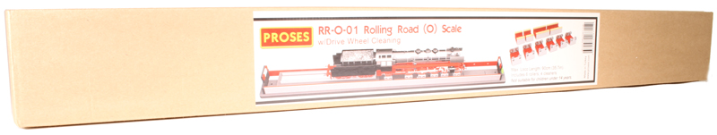 O SCALE ROLLING ROAD W// WHEEL CLEANING