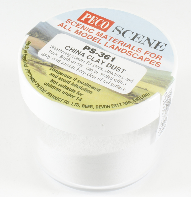 Weathering powder - china clay dust - 75ml tub