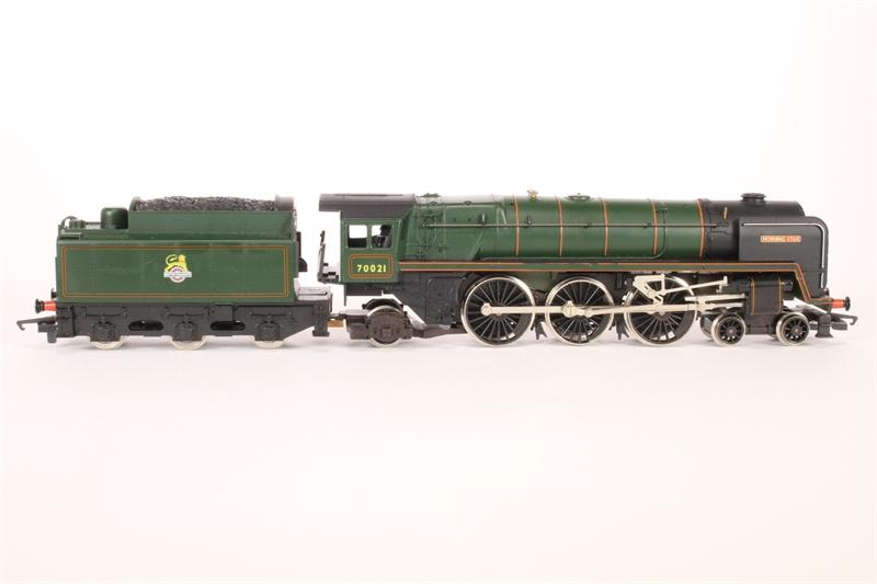 Hornby R033morningstar Ln03 Britannia Class 4 6 2 39 Morning Star 39 70021 In Br