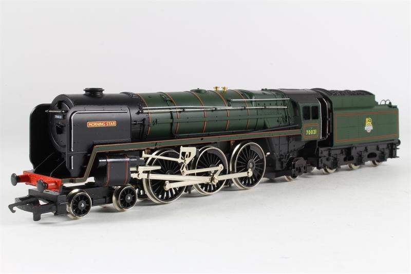 Hornby R033 Morningstar Ln 08 Class 7mt No 70021 39 Morning Star 39 In Br Green