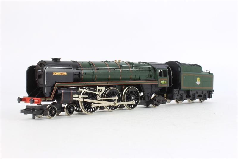 Hornby R033 Morningstar Ln011 Class 7mt No 70021 39 Morning Star 39 In Br Green