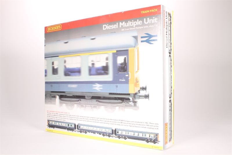 Hornby r2073a class 110 3 car diesel for 110 window unit