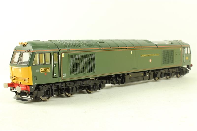 Hornby R2604 LN Class 60 Diesel 60081 Isambard Kingdom Brunel In GWR Green