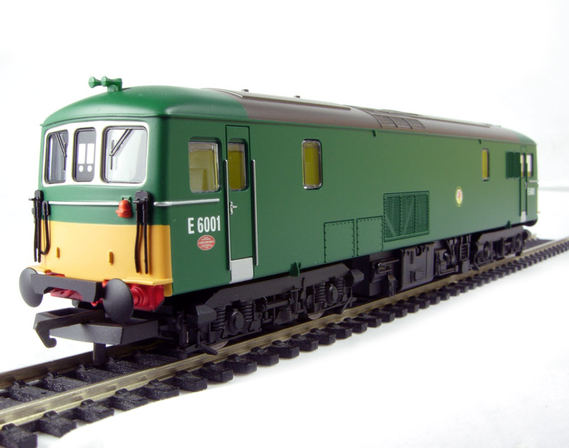 hornby r2656 class 73 e6001 in br green. Black Bedroom Furniture Sets. Home Design Ideas