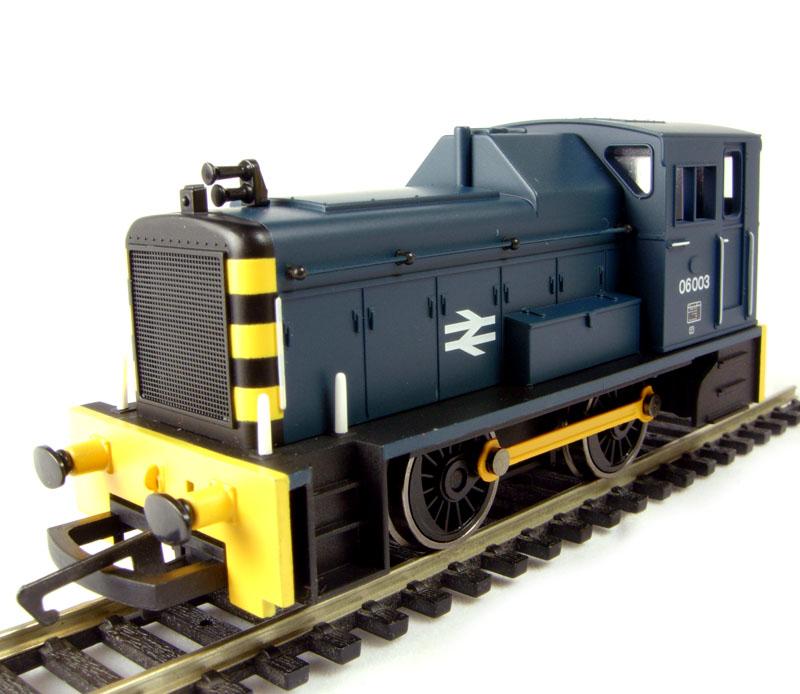 06: Hornby R2676 Class 06 Shunter 06003 In BR Blue
