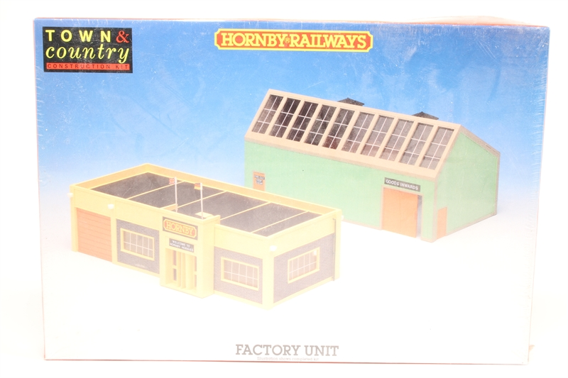 Pre Owned Factory >> Hattons Co Uk Hornby R281 Po Factory Unit Plastic