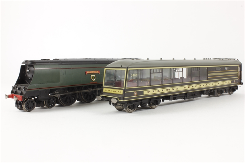 34007 >> Hattons Co Uk Hornby R2817 Hx The Devon Belle Train Pack With