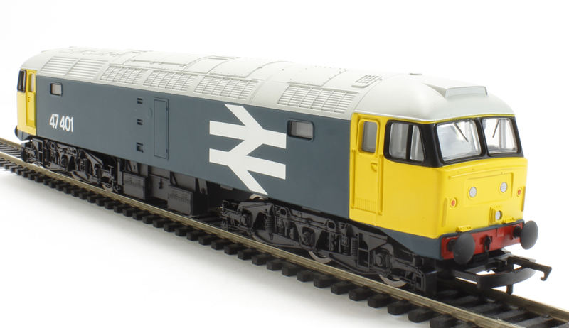 hattons co uk - Hornby R3287TTS Class 47 47401 in BR Large
