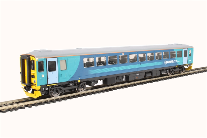 Hornby R3476 HO//00 Scale DCC Ready Arriva Trains Wales /'153327/' Class 153