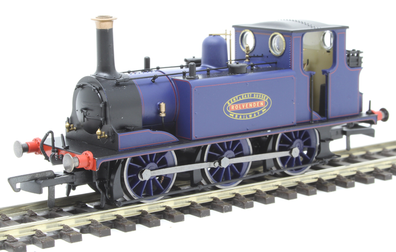 """Hornby R3781 - 5 """"Rolvenden"""" in Kent and East Sussex Railway blue"""