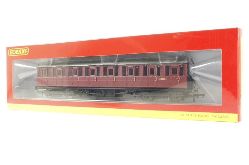 Toys & Hobbies Good Hornby R4675 Br Gresley Suburban 3rd Class Coach E82288e Model Railroads & Trains