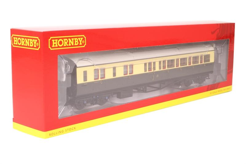 Hornby R4760 GWR Chocolate /& Cream Collett Corridor Brake 3rd Class LH Coach OO