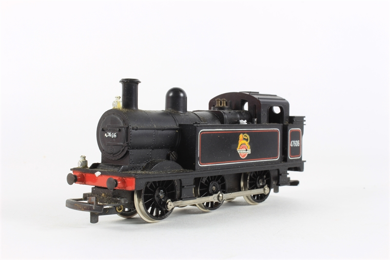 Hornby R52-HD Class 3F Tank Locomotive 47606 - Pre-owned - Paint on  undercarriage - Worn Box