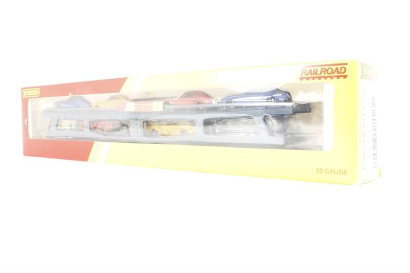 Hornby r6423 ln 02 car transporter pre for Cannon motor company preowned