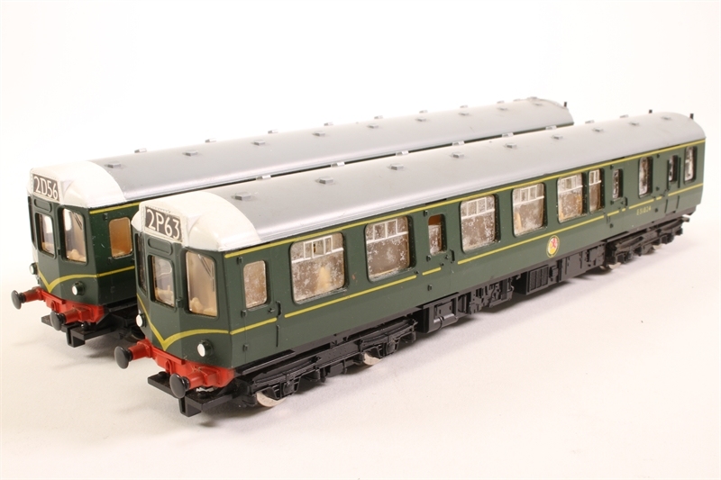hornby r687 sd02 class 110 car diesel multiple unit pack e51824 pre owned. Black Bedroom Furniture Sets. Home Design Ideas