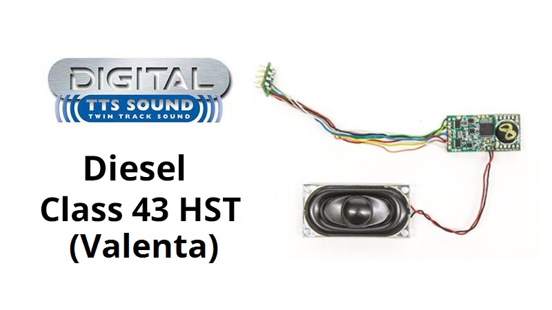 Hornby R7140 Class 43 Hst Tts Sound Decoders valenta Newly Released