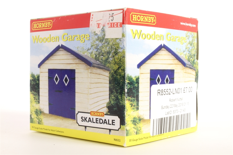 Hornby r8552 ln01 stand alone garage for Stand alone garage kits