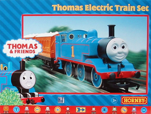 Hornby thomas electric train set up