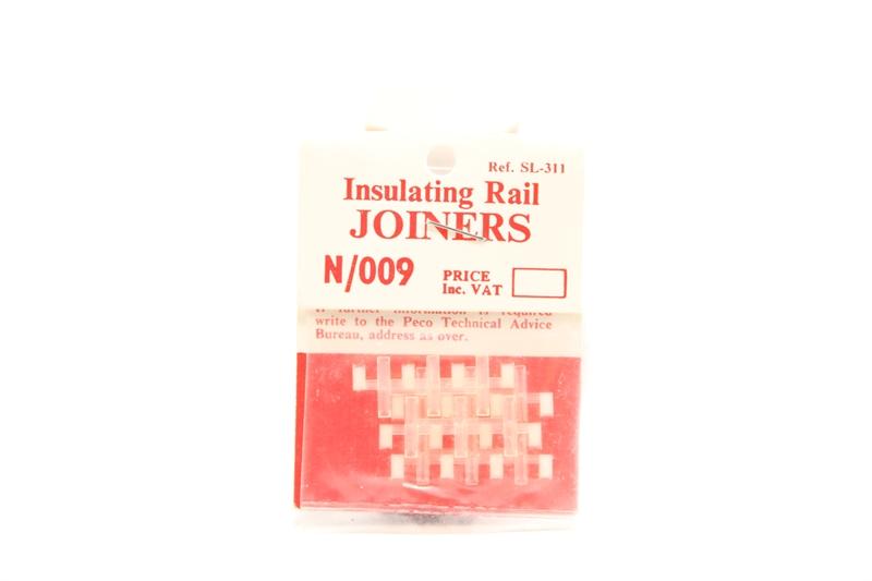 N Gauge Peco N SL-311 Rail Joiners Insulating. Model Railways
