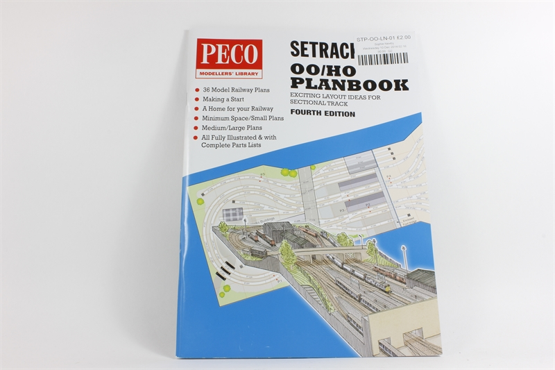 Peco products stp oo ln 01 peco setrack for Planbook login