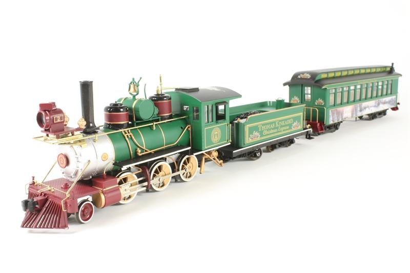 USA002-U Hawthorne Village Thomas Kinkades Christmas Express Train Set - Pre-owned -