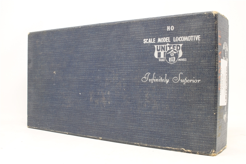 hattons co uk - United Scale Models USM3802-PO 4-8-4 Steam