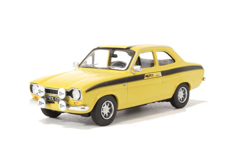 ford escort mk1 mexico yellow
