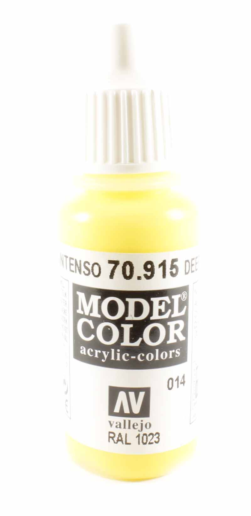 Vallejo Val915 Model Color Deep Yellow